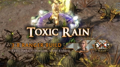 [Ranger] PoE 3.8 Toxic Rain Pathfinder Clearer Build (PC, PS4, Xbox)